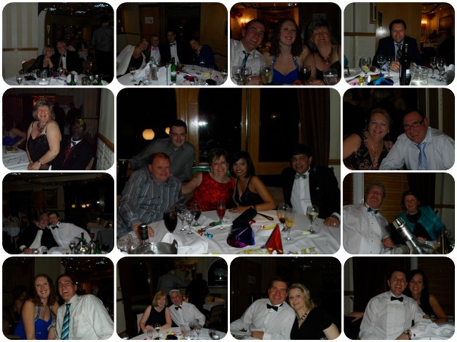 photomontage from B2B Christmas party 2013