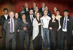 B2B win economic regeneration award